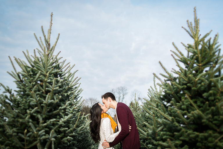 Charming Holiday Engagement Session