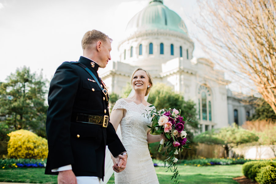 Naval Academy Wedding Photographer | Annapolis, MD | Adagray & Chris