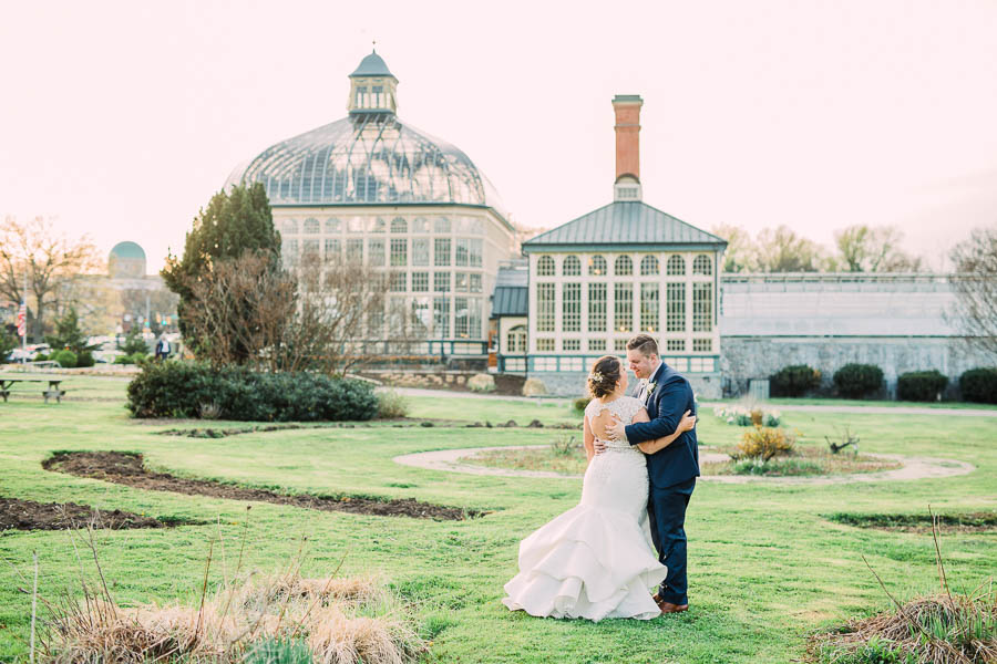 Rawlings Conservatory Wedding Photographer | Baltimore, MD | Courtney & Ryan